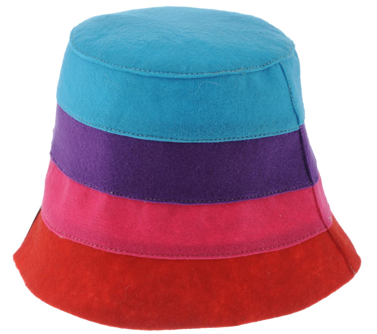 Шапка для бани и сауны Доктор баня В полоску, цвет: красный, розовый, фиолетовый905254_красный, розовый, фиолетовый, голубойШапка для бани и сауны Доктор баня В полоску, выполненная из 100% полиэстера, является оригинальным и незаменимым аксессуаром для любителей попариться в русской бане и для тех, кто предпочитает сухой жар финской бани. Необычный дизайн изделия поможет сделать ваш отдых более приятным и разнообразным. При правильном уходе шапка прослужит долгое время. Обхват головы: 60 см.