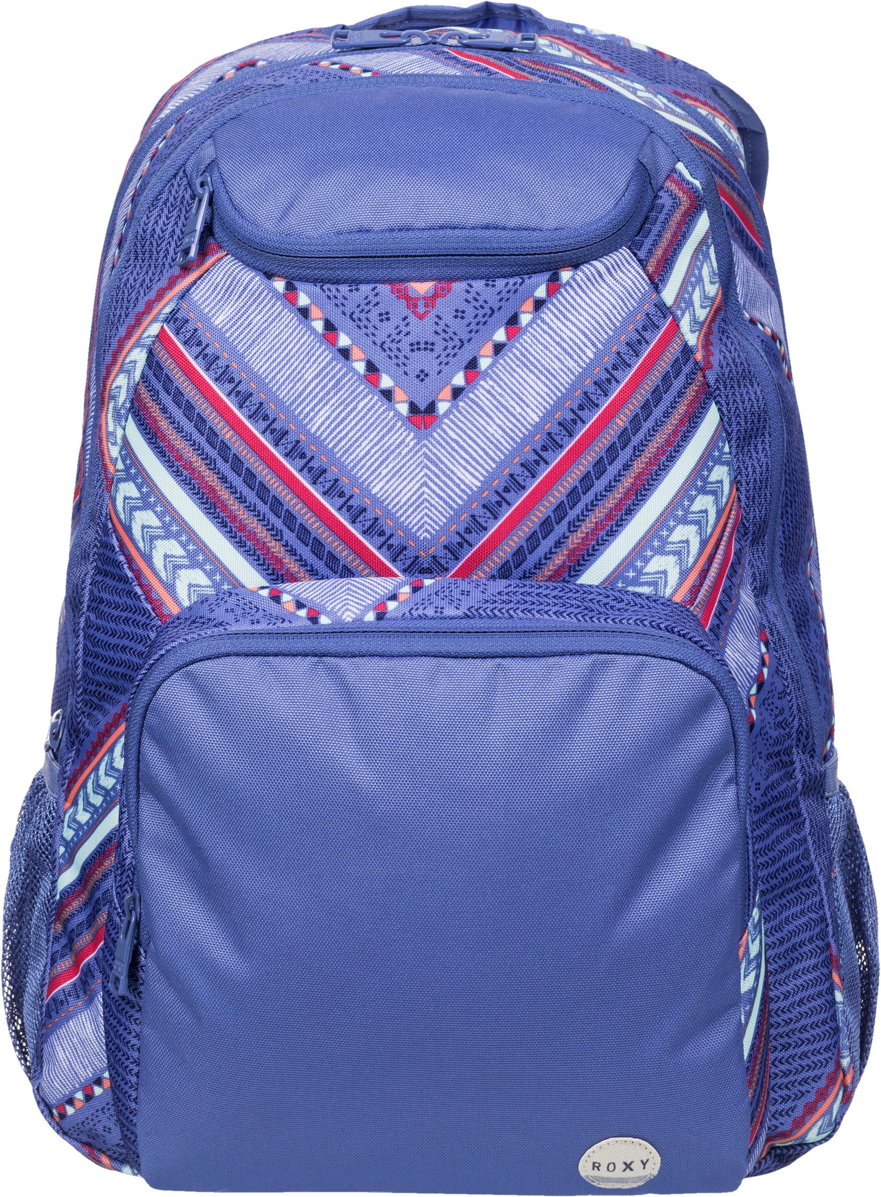 Рюкзак городской жен. Roxy ALRIGHT, цвет: синий, 25 л. ERJBP03162-PMK7