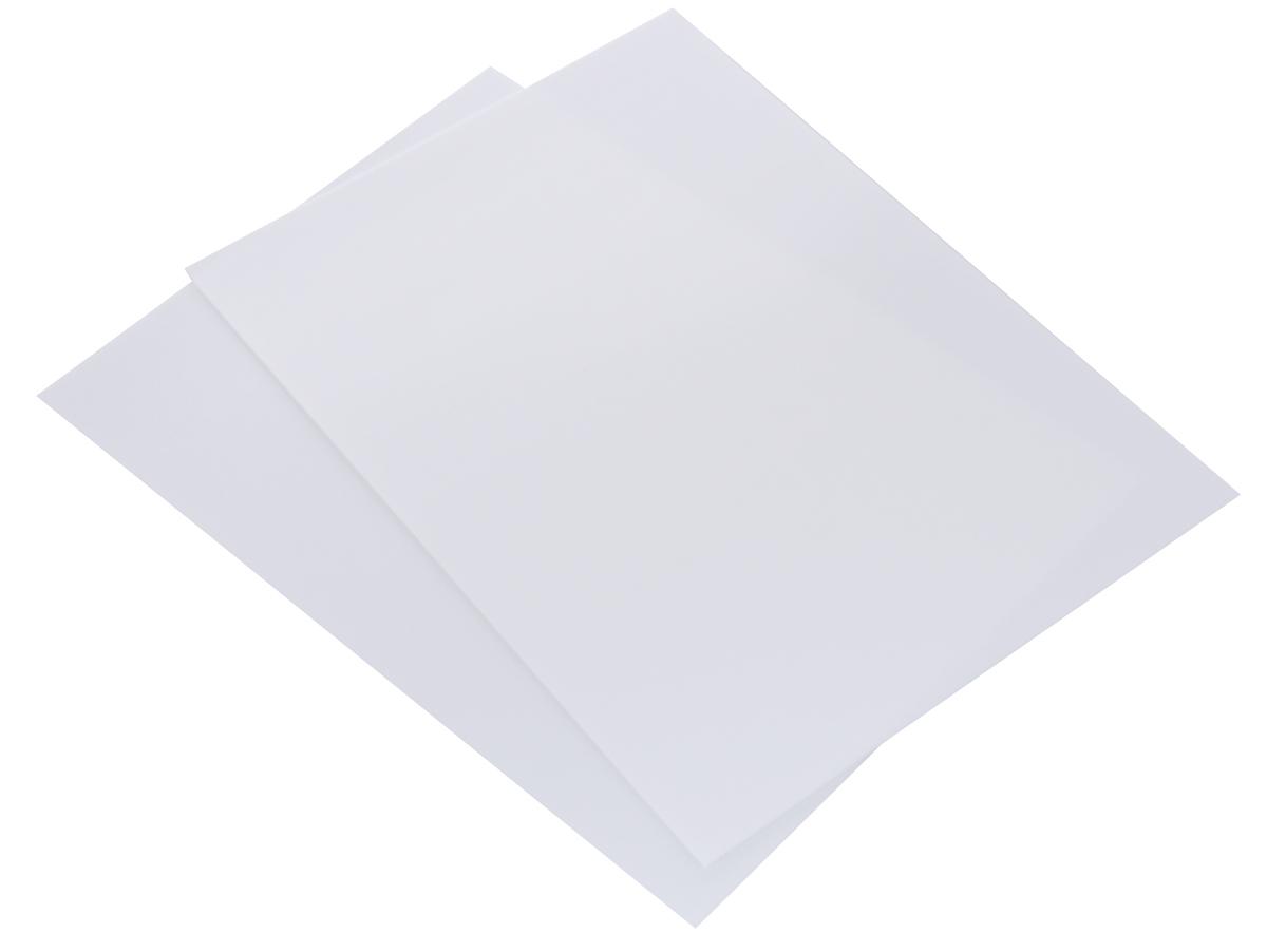 Набор заготовок для обложек Clover, 29,2 х 21 см, 2 шт9571Работать с заготовками Clover, выполненными из гнущегося пластика и полипропилена, очень удобно. Вы сможете сделать красивую обложку сами, как настоящий профессионал. Готовое изделие получится прочным и сможет защитить ваш планшет, блокнот или другой аксессуар от царапин, потертостей и грязи. В комплекте 2 заготовки.