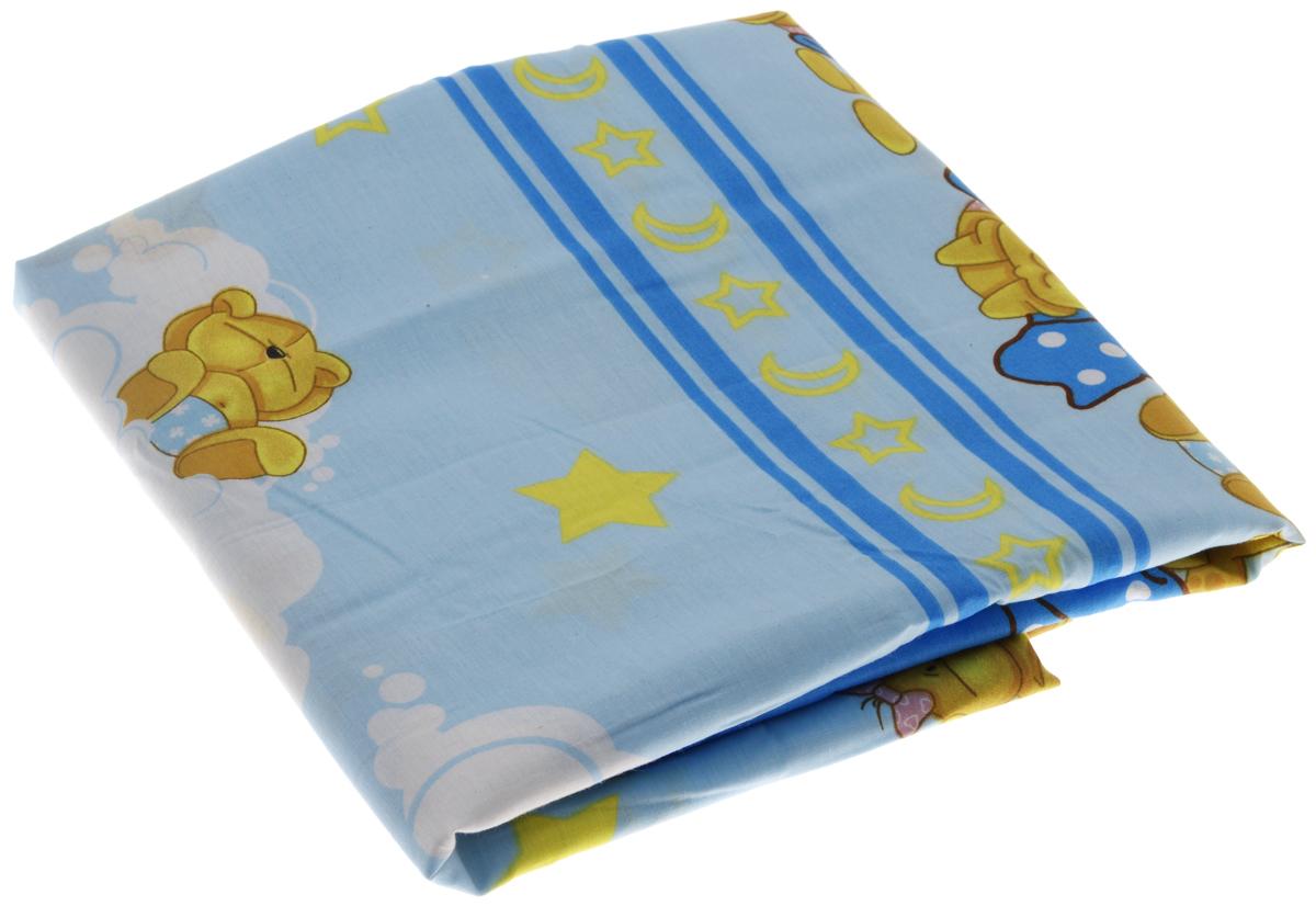 Фея Пододеяльник детский Мишки под одеялом 110 см х 140 см