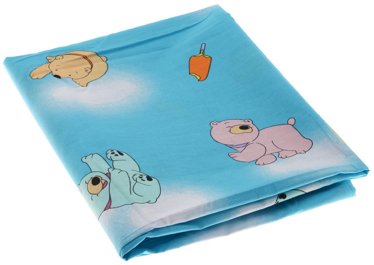 Фея Пододеяльник детский Мишки с мороженым 110 см х 140 см0001054-1_ мороженоеДетский пододеяльник Фея Мишки с мороженым идеально подойдет для одеяла вашего малыша. Изготовленный из 100% хлопка, он необычайно мягкий и приятный на ощупь, позволяет коже дышать. Натуральный материал не раздражает даже самую нежную и чувствительную кожу ребенка, обеспечивая ему наибольший комфорт. Приятный рисунок пододеяльника, несомненно, понравится малышу и привлечет его внимание. Под одеялом с таким пододеяльником кроха будет спать здоровым и крепким сном. Размер пододеяльника: 110 см х 140 см.