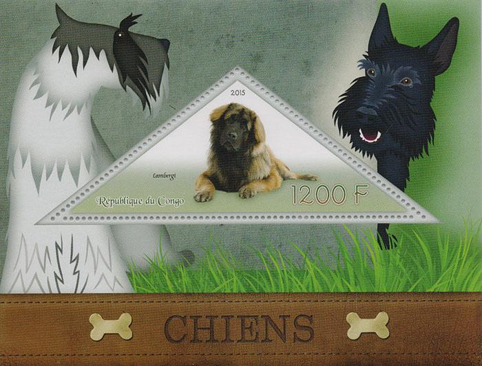 Почтовый блок Собаки. Конго, 2015 год739Почтовый блок Собаки. Конго, 2015 год. Размер марки: 9 х 3.5 см. Размер блока: 12 х 9 см. Сохранность хорошая.