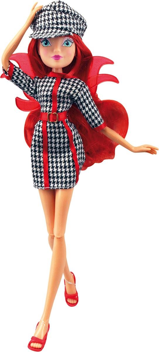 Winx Club Кукла Парижанка БлумIW01011400_БлумНовые образы из 6 сезона! Романтичные образы фей Winx привлекут внимание юных модниц! Модный аксессуар для ребенка – очки-жалюзи в наборе! Руки/ноги подвижные. Ноги на шарнирах. В наборе: кукла в одежде и обуви, съемные пластиковые крылышки, очки-жалюзи для ребенка.