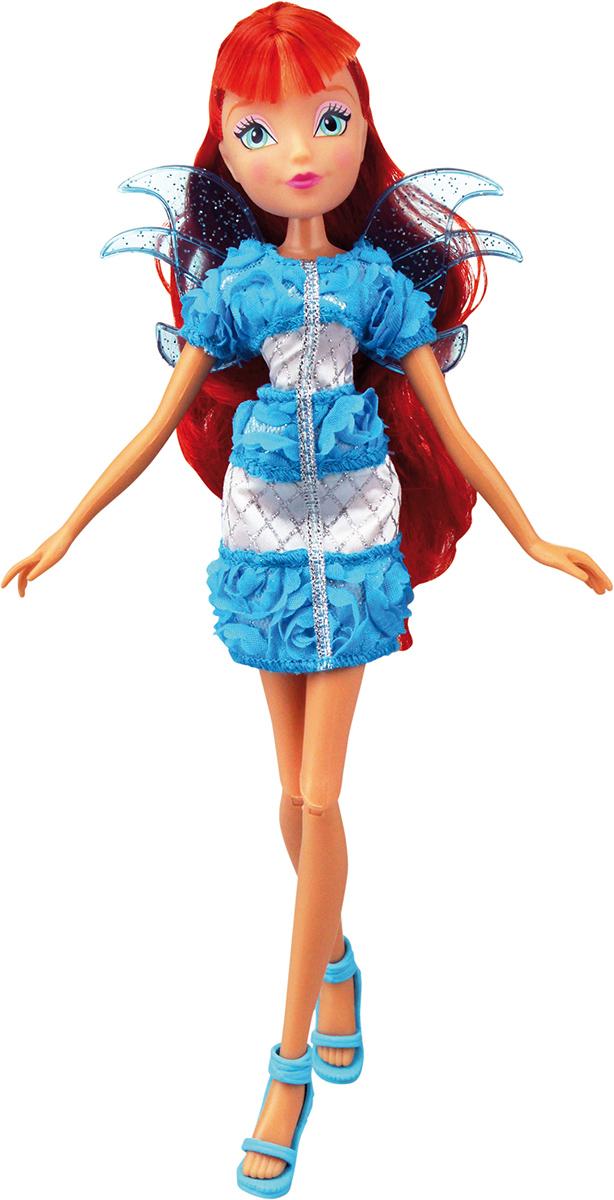 Winx Club Кукла Нежная роза БлумIW01021400_БлумНовые образы из 6 сезона! Необыкновенные платья в цветочном стиле придутся по душе любой девочке! Игрушечный пластиковый проектор в наборе! (батарейки включены! L736 x 3 шт) Руки/ноги подвижные. Ноги на шарнирах. В наборе: кукла в одежде и обуви, съемные пластиковые крылышки, игрушечный пластиковый проектор.