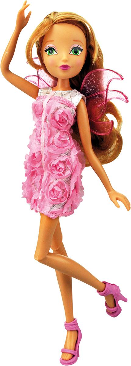 Winx Club Кукла Нежная роза ФлораIW01021400_ФлораНовые образы из 6 сезона! Необыкновенные платья в цветочном стиле придутся по душе любой девочке! Игрушечный пластиковый проектор в наборе! (батарейки включены! L736 x 3 шт) Руки/ноги подвижные. Ноги на шарнирах. В наборе: кукла в одежде и обуви, съемные пластиковые крылышки, игрушечный пластиковый проектор.