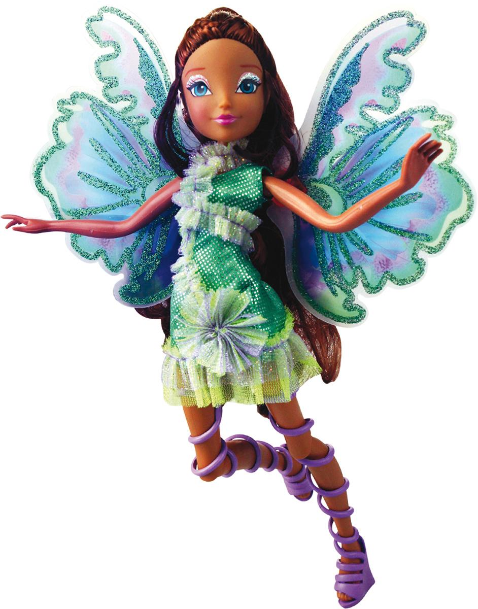 Winx Club Кукла Мификс ЛейлаIW01031400_ЛейлаНовое волшебное превращение из 6 сезона м/ф Наряды и крылышки кукол полностью повторяют образы фей из м/ф! Руки/ноги подвижные. Ноги на шарнирах. Шикарные длинные волосы. В коробке с куклой есть карточка с уникальным кодом для бесплатного доступа к доп.свойствам персонажей в приложении для моб.устройств В наборе: кукла в одежде и обуви, съемные подвижные крылышки, пластик.скипетр для куклы, карточка с кодом