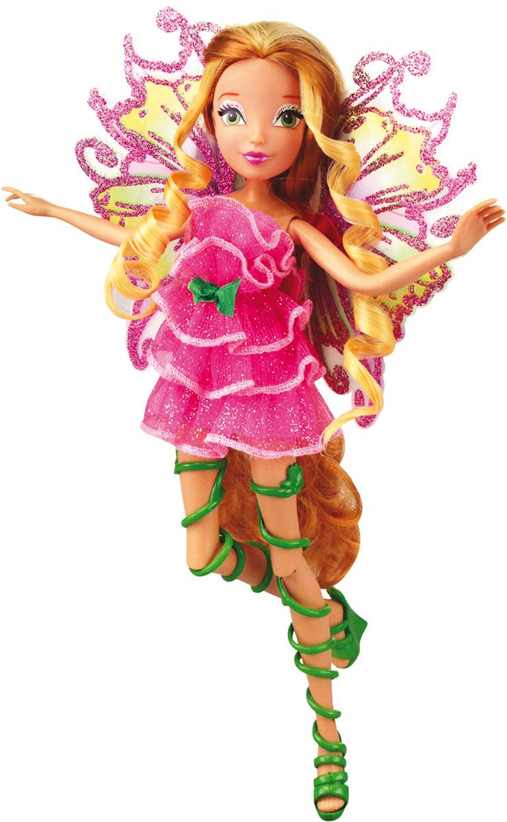 Winx Club Кукла Мификс ФлораIW01031400_ФлораНовое волшебное превращение из 6 сезона м/ф Наряды и крылышки кукол полностью повторяют образы фей из м/ф! Руки/ноги подвижные. Ноги на шарнирах. Шикарные длинные волосы. В коробке с куклой есть карточка с уникальным кодом для бесплатного доступа к доп.свойствам персонажей в приложении для моб.устройств В наборе: кукла в одежде и обуви, съемные подвижные крылышки, пластик.скипетр для куклы, карточка с кодом