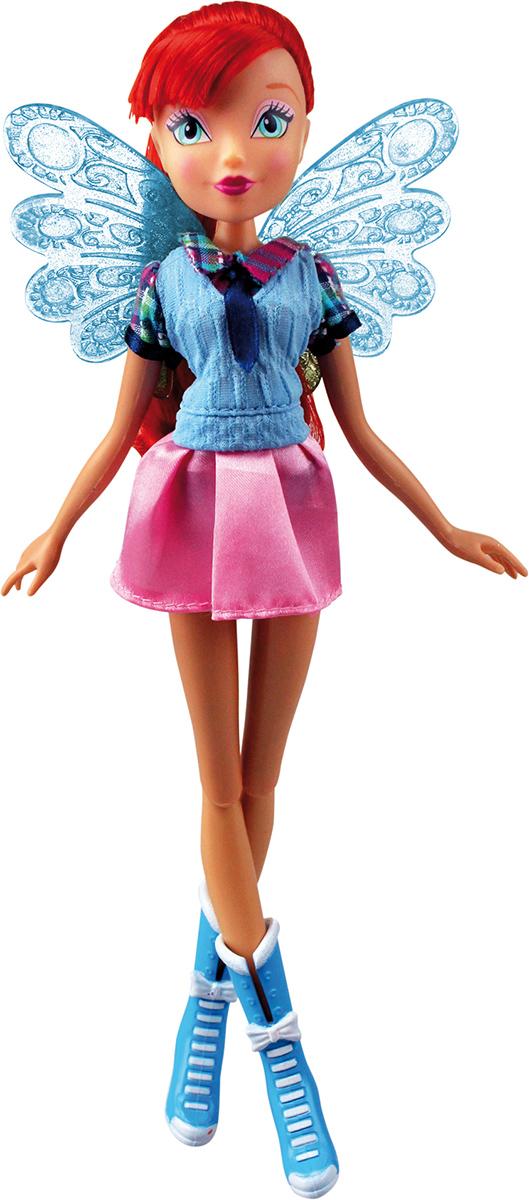 Winx Club Кукла Алфея БлумIW01091400_БлумНовые образы из 7 сезона! Браслет для ребенка с декоративными съемными элементами в стиле Winx в наборе! Руки/ноги подвижные. Ноги на шарнирах. В наборе: кукла в одежде и обуви, съемные пластиковые крылышки, браслет для ребенка с декоративными съемными элементами.