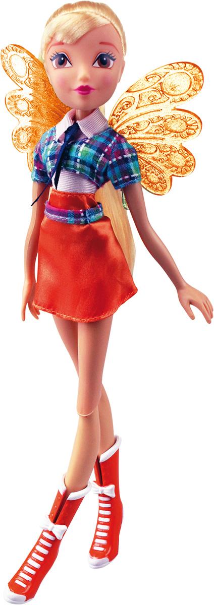 Winx Club Кукла Алфея СтеллаIW01091400_СтеллаНовые образы из 7 сезона! Браслет для ребенка с декоративными съемными элементами в стиле Winx в наборе! Руки/ноги подвижные. Ноги на шарнирах. В наборе: кукла в одежде и обуви, съемные пластиковые крылышки, браслет для ребенка с декоративными съемными элементами.