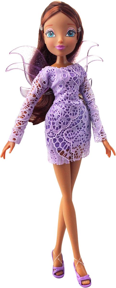 Winx Club Кукла Кружева ЛейлаIW01171400_ЛейлаКружевные, воздушные платья! Съемные разноцветные пряди для волос в наборе! Руки/ноги неподвижные. В наборе: кукла в одежде и обуви, съемные пластиковые крылышки, съемные разноцветные пряди для волос в наборе.