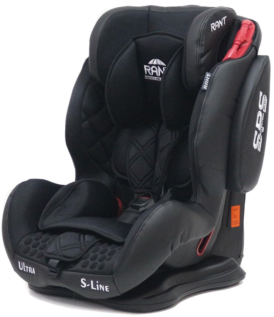 Rant Автокресло Ultra SPS цвет черный от 9 до 36 кг4630008878750Автокресло Rant Ultra SPS группы 1-2-3 предназначено для детей весом от 9 до 36 кг (возраст от 9 месяцев до 12 лет), крепится штатными ремнями безопасности автомобиля, устанавливается по ходу движения автомобиля. Кресло оснащено пятиточечным ремнем безопасности с мягкими плечевыми накладками и антискользящими нашивками, 3-х ступенчатой настройкой высоты подголовника, корректировкой высоты ремня безопасности по уровню подголовника. 3 положения наклона корпуса, устойчивая база, фиксатор высоты штатных ремней безопасности, дополнительная боковая защита, съемный чехол, мягкий съемный вкладыш для малыша делают это кресло идеальным средством для защиты ребенка во время передвижения на автомобиле. Сертификат Европейского Стандарта Безопасности ЕCE R44/04.