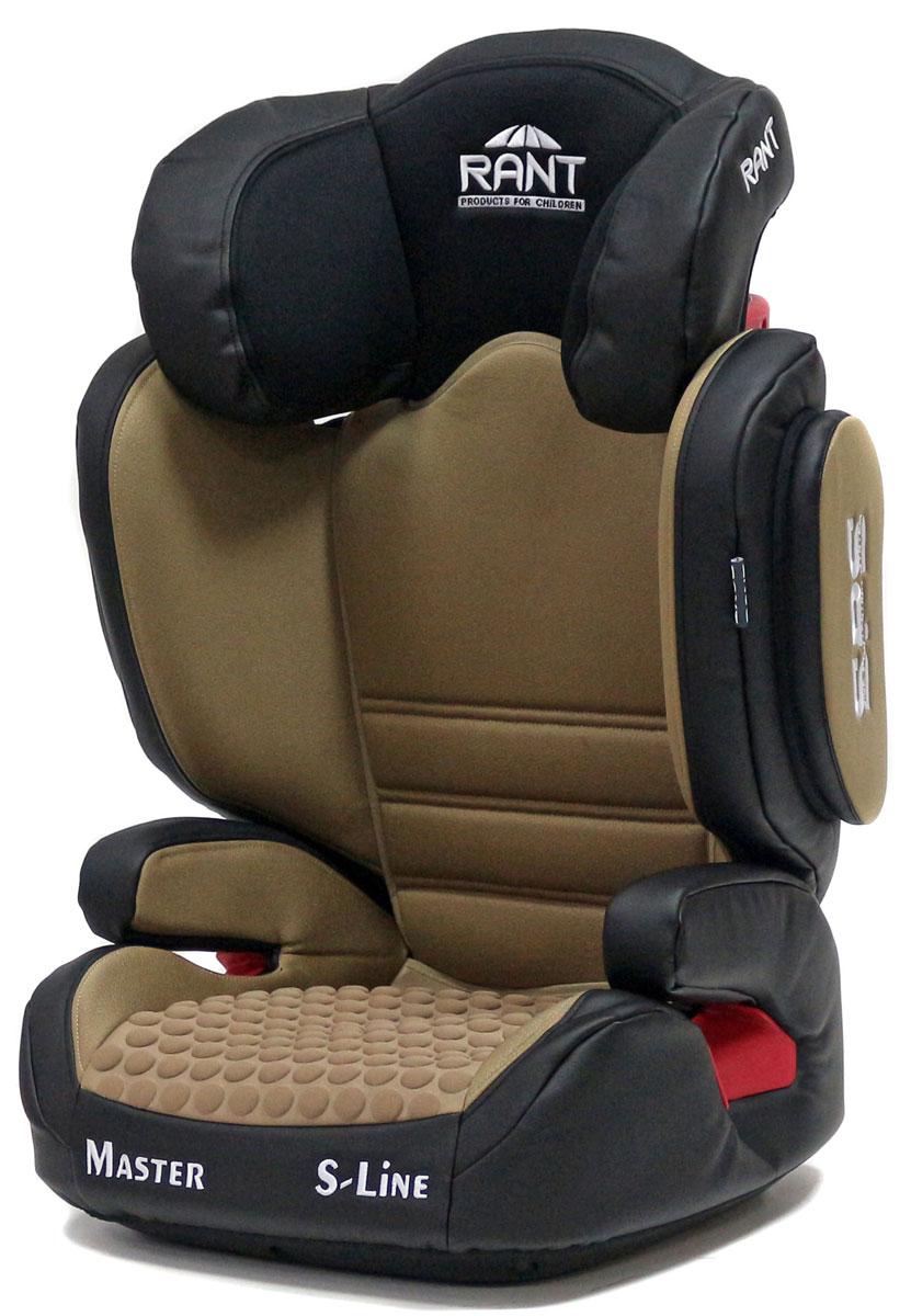 Rant Автокресло Master SPS группа 2-3 (15-36 кг) цвет кофейный4630008878811Серия S-Line автокресло Master группа 2-3. Вес ребенка: 15-36 кг, возраст: от 3 до 12 лет (ориентировочно), крепится штатными ремнями безопасности автомобиля, устанавливается по ходу движения автомобиля, 2-х ступенчатая настройка высоты подголовника и ширины плечевой зоны, фиксатор высоты штатных ремней безопасности, дополнительная боковая защита, трансформируется в бустер, съемный чехол, сертификат Европейского Стандарта Безопасности ЕCE R44/04.