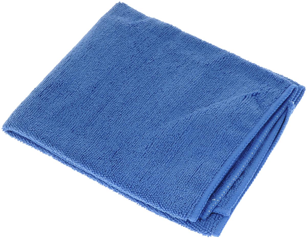 Тряпка для пола Home Queen, цвет: синий, 40 х 50 см50749_ синийТряпка Home Queen, изготовленная из микрофибры, предназначена для мытья напольных покрытий. Она идеально подходит для мытья стеклянных и блестящих поверхностей, так как не отставляет разводов и ворсинок. Тряпка прекрасно удаляет жирные и маслянистые загрязнения без использования химических веществ. Гарантирует непревзойденную чистоту при сухой и влажной уборке. Тряпка для пола впитывает гораздо больше воды, чем обычная ткань. Тряпка Home Queen станет надежной помощницей в уборке вашего дома.