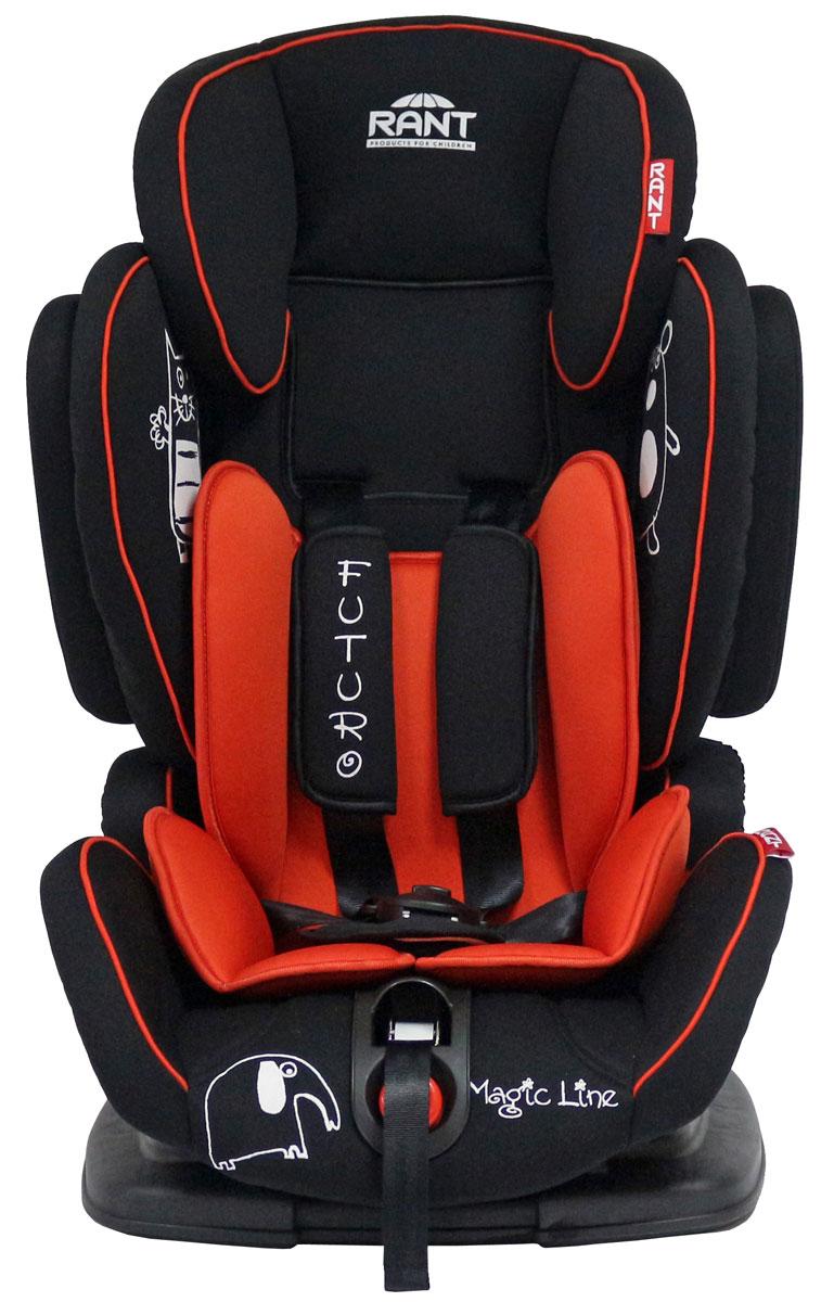 Rant Автокресло Futuro цвет красный от 9 до 36 кг