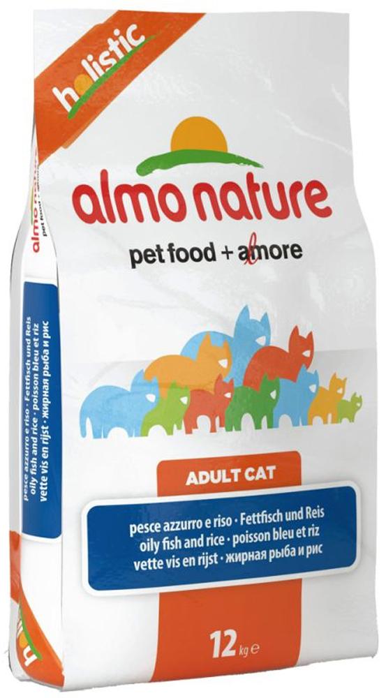 Для Взрослых кошек с рыбой и рисом (Holistic Adult Cat Fish&Rice), 12 кг.22593Состав: мясо белой рыбы и ее производные 55% (из которых 25% свежего мяса), злаки (рис 14%, ячмень), растительный протеиносодержащий экстракт, жиры, минералы, маннанолигосахариды, фруктоолигосахариды Пищевые добавки: Таурин 1170 мг/кг, DL – метионин 1120 мг/кг, Витамин А 3760 МЕ/кг, Витамин D3 2275 МЕ/кг, Витамин Е 210 мг/кг Микроэлементы: йодат кальция, безводный 1,64 мг/кг, селенит натрия 0,53 мг/кг, сульфат железа моногидрат 321мг/кг, сульфат меди пентогидрат 42 мг/кг, аминокислотный-меди хелат, гидрат 53 мг/кг, аминокислотный-цинка хелат, гидрат 356 мг/кг, сульфат марганца моногидрат 117 мг/кг, сульфат цинка моногидрат 296 мг/кг, аминокислотный-железа хелат, гидрат 21 мг/кг Гарантированный анализ: белки – 31%, клетчатка – 1,5%, жиры – 15%, зола – 8,5%, влажность – 7%