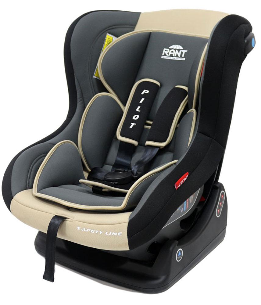 Rant Автокресло Pilot группа 0-1 (0-18 кг) цвет бежевый4630008874349Детское автокресло Pilot - разработано для детей весом 0-18 кг (ориентировочно с рождения до 4-х лет). Автокресло может устанавливаться как по ходу движения, так и против хода движения. Для новорожденного малыша весом 0-9 кг автокресло фиксируется в автомобиле против хода движения (ребенок лицом назад), пока малыш научится хорошо сидеть. С 7-8 месяцев автокресло фиксируется лицом вперед и эксплуатируется приблизительно до 4-х лет (при весе ребенка 9-18 кг). Особенности: Удобное сидение анатомической формы с мягким матрасиком делает кресло комфортным и безопасным для малышей. Боковая защита обезопасит ребенка от ударов при боковых столкновениях. Спинка автокресла имеет регулировку наклона в 3-х положениях. Положение наклона спинки автокресла для комфортного сна в длительных поездках легко регулируются одной рукой при помощи специального рычага, расположенного в передней части автокресла (под чехлом). Автокресло оснащено пятиточечными ремнями безопасности с мягкими плечевыми...