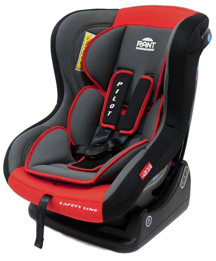 Rant Автокресло Pilot до 18 кг цвет красный4630008874356Детское автокресло Rant Pilot разработано для детей весом до 18 кг (ориентировочно с рождения до 4-х лет). Автокресло может устанавливаться как по ходу движения, так и против хода движения. Для новорожденного малыша весом до 9 кг автокресло фиксируется в автомобиле против хода движения (ребенок лицом назад), пока малыш научится хорошо сидеть. С 7-8 месяцев автокресло фиксируется лицом вперед и эксплуатируется приблизительно до 4-х лет (при весе ребенка 9-18 кг). Особенности: Удобное сиденье анатомической формы с мягким матрасиком делает кресло комфортным и безопасным для малышей. Боковая защита обезопасит ребенка от ударов при боковых столкновениях. Спинка автокресла имеет регулировку наклона в 3-х положениях. Положение наклона спинки автокресла для комфортного сна в длительных поездках легко регулируются одной рукой при помощи специального рычага, расположенного в передней части автокресла (под чехлом). Автокресло оснащено пятиточечными ремнями безопасности с мягкими плечевыми...