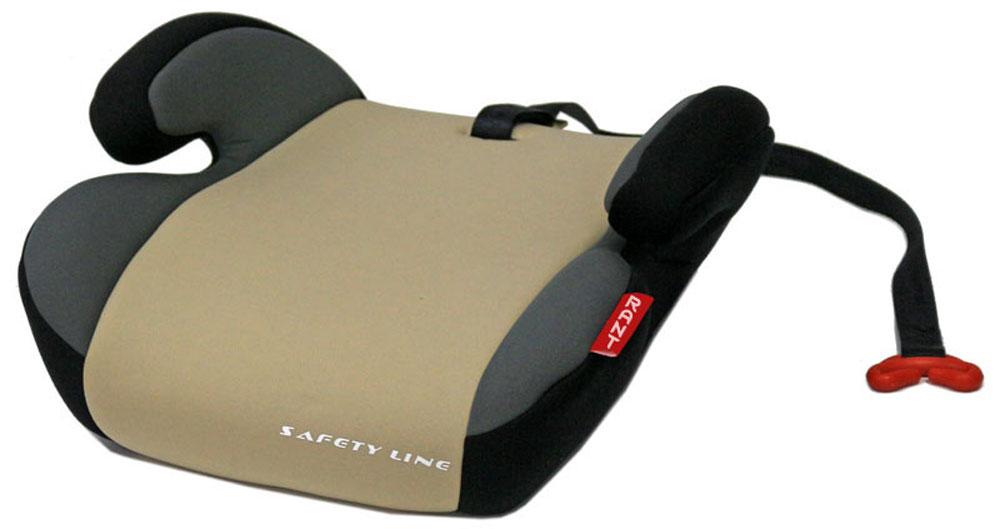 Rant Автокресло Point 5 цвет бежевый от 15 до 36 кг4630008874493Автокресло (бустер) Rant Point 5 разработано для детей весом от 15 до 36 кг (приблизительно с 5 до 12 лет) относится к старшей возрастной группе. Особенности: Автокресло (бустер) представляет собой сиденье без спинки, анатомической формы, с удобными подлокотниками, которые обеспечивают комфортное размещение ребенка при длительных поездках, а также правильное положение рук ребенка, чтобы он меньше уставал во время поездок. Автокресло (бустер) позволяет приподнять ребенка на необходимую высоту, чтобы автомобильный ремень безопасности правильно проходил через грудную клетку и тазобедренную часть тела ребенка. В конце поездки автокресло (бустер) можно с легкостью и быстро убрать в багажник машины. Его также можно использовать для поездок в такси или других автомобилях, не оборудованных детскими автокреслами. Съемный чехол автокресла Point 5 изготовлен из экологичной эластичной ткани, легко чистится и стирается вручную, также допустима стирка в стиральной машине в режиме деликатной...