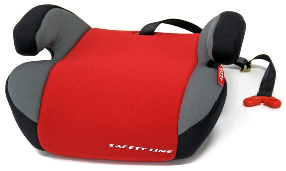 Rant Автокресло Point 5 цвет красный от 15 до 36 кг4630008874509Автокресло (бустер) Rant Point 5 разработано для детей весом от 15 до 36 кг (приблизительно с 5 до 12 лет) относится к старшей возрастной группе. Особенности: Автокресло (бустер) представляет собой сиденье без спинки, анатомической формы, с удобными подлокотниками, которые обеспечивают комфортное размещение ребенка при длительных поездках, а также правильное положение рук ребенка, чтобы он меньше уставал во время поездок. Автокресло (бустер) позволяет приподнять ребенка на необходимую высоту, чтобы автомобильный ремень безопасности правильно проходил через грудную клетку и тазобедренную часть тела ребенка. В конце поездки автокресло (бустер) можно с легкостью и быстро убрать в багажник машины. Его также можно использовать для поездок в такси или других автомобилях, не оборудованных детскими автокреслами. Съемный чехол автокресла Point 5 изготовлен из экологичной эластичной ткани, легко чистится и стирается вручную, также допустима стирка в стиральной машине в режиме деликатной...