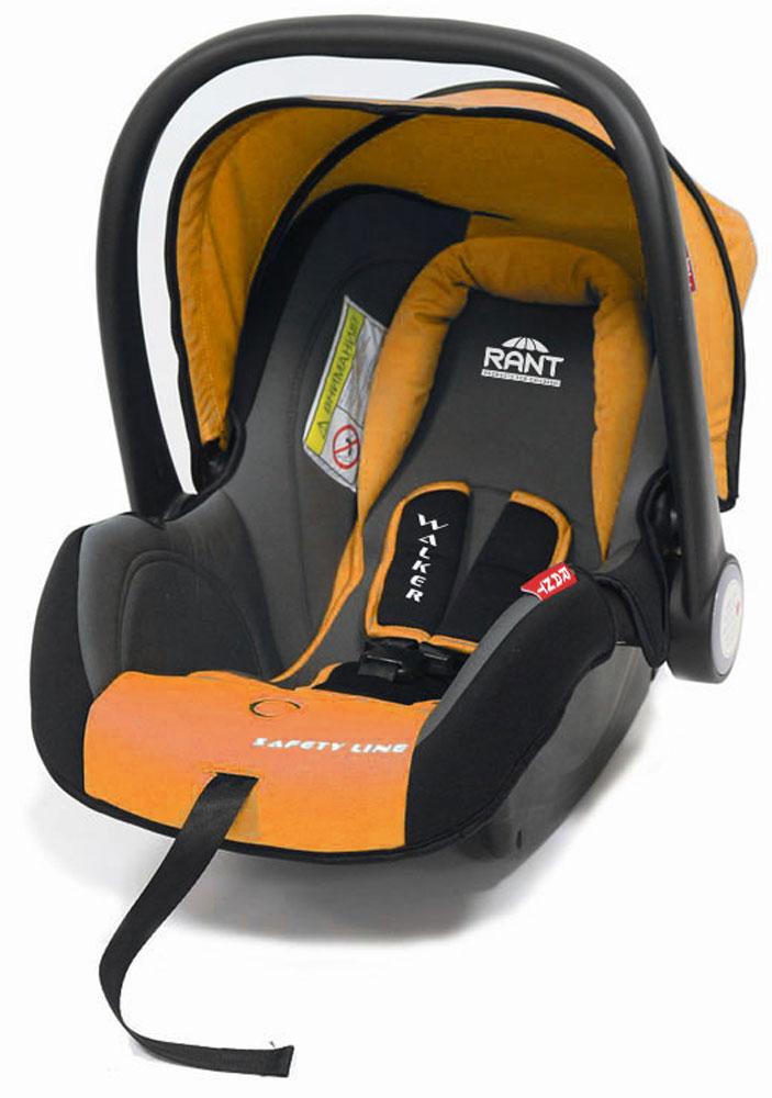 Rant Автокресло Walker цвет оранжевый до 13 кг4630008874318Детское автокресло-переноска Walker предназначено для малышей весом до 13 кг (приблизительно до 12 месяцев). Особенности:Сиденье удобной формы с мягким вкладышем обеспечивает защиту и идеальное положение шеи и спины малыша, а также делает кресло комфортным и безопасным. Автокресло (переноска) Walker имеет внутренние 3-х точечные ремни безопасности с плечевыми накладками (уменьшают нагрузку на плечи малыша). Накладки обеспечивают плотное прилегание и надежно удержат малыша в кресле в случае ударов. Ремни удобно регулировать под рост и комплекцию ребенка без особых усилий. Удобная ручка для переноски малыша регулируется в 4-х положениях: для устойчивости автокресла в автомобиле, для переноски малыша, вне автомобиля автокресло можно использовать как кресло-качалку или кресло-шезлонг. Съемный капюшон защитит от яркого солнца или дождя, когда вы гуляете с малышом на свежем воздухе. Съемный чехол автокресла Walker изготовлен из экологичной, эластичной ткани, легко чистится и...