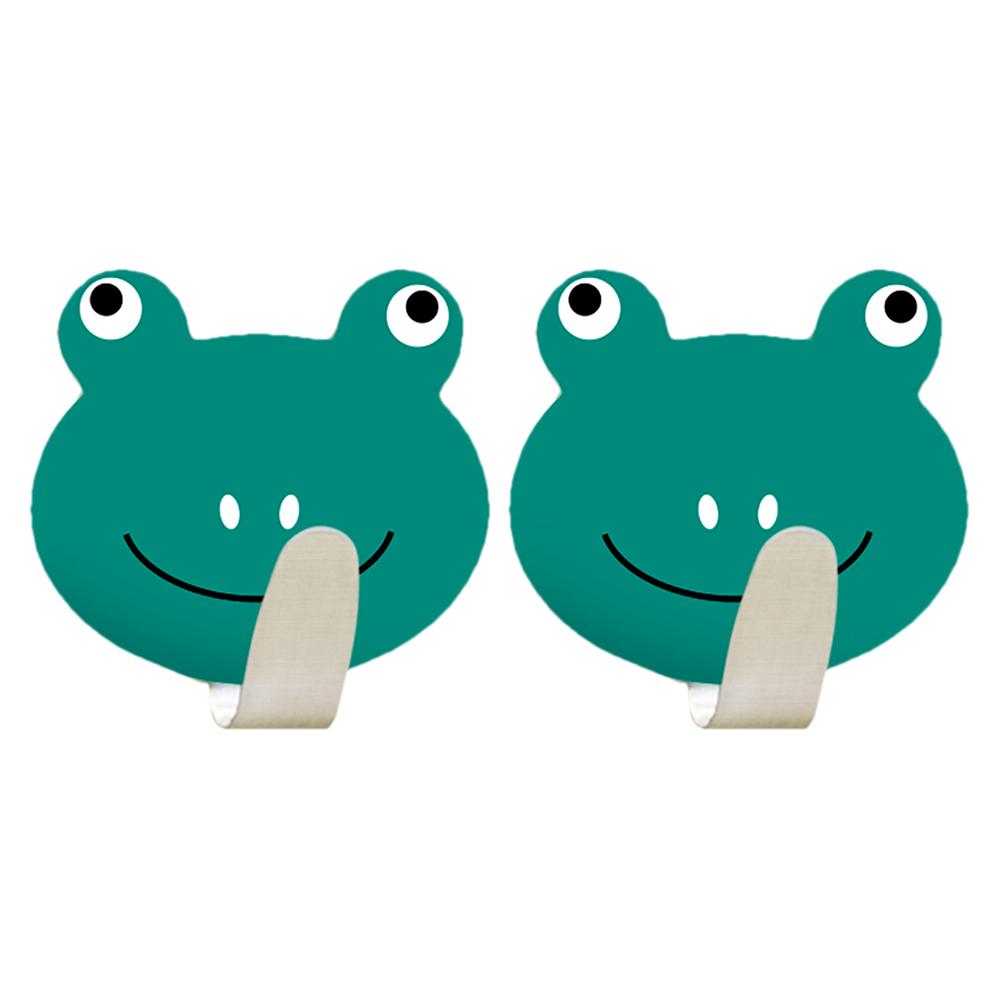 Крючок Tatkraft Frogs, самоклеющийся20085Tatkraft FROGS Самоклеющийся крючок из нержавеющей стали. Набор из 2х крючков. Надежная фиксация, . Размер: 55*50 мм. Выдерживает вес до 5 кг.