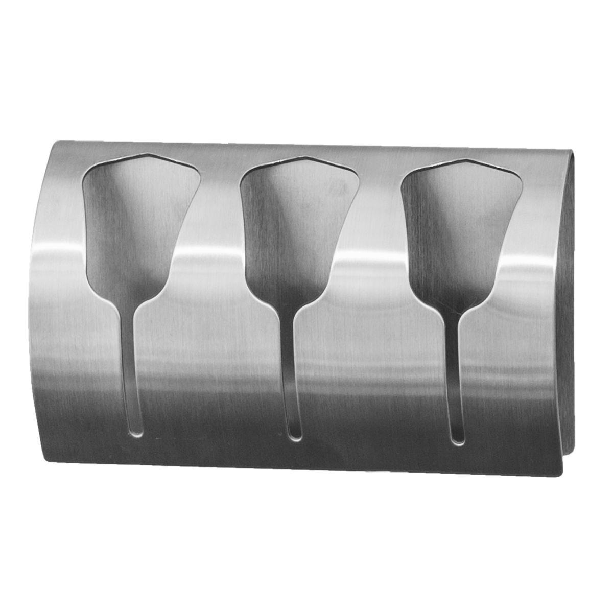Вешалка Tatkraft Bell, самоклеющаяся, для 3 полотенец20153Tatkraft Bell Самоклеющаяся вешалка для 3 полотенец из нержавеющей стали, не боится влаги, удобна в использовании. Легкая установка (инструкция на упаковке), надежный клеевой слой, выдерживает вес до 10 кг. Упаковка: блистер.