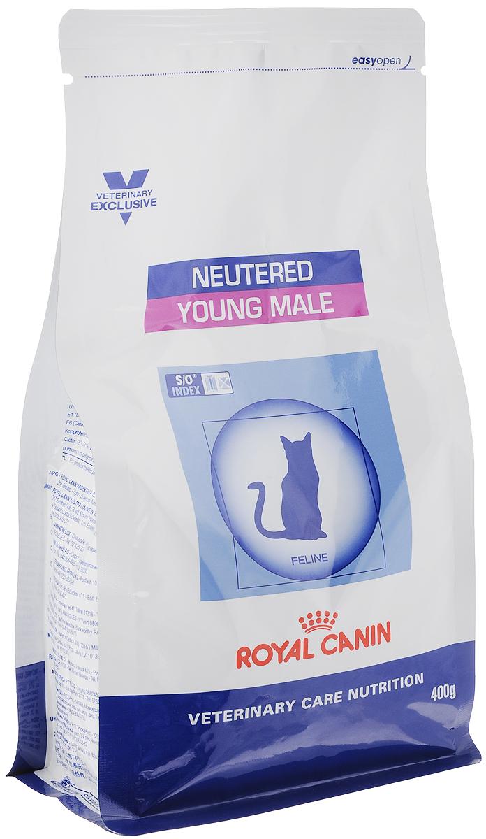 Корм сухой Royal Canin Young Male для кастрированных котов с момента операции до 7 лет, 400 г31425Royal Canin Young Male - полнорационный сухой корм для кастрированных котов с момента операции до 7 лет. Оптимальный вес: - обогащенная белками формула способствует лучшему поддержанию мышечного тонуса по сравнению с обычным режимом питания, повышению вкусовых качеств корма. При одном и том же уровне метаболизма белки дают на 30% меньше чистой энергии, чем углеводы. L-карнитин улучшает транспорт жирных кислот в митохондрии. Умеренное содержание крахмала: - пониженный уровень крахмала и, соответственно, энергии позволяет не набирать лишний вес и уменьшает риск развития диабета. S/O Index : Знак S/O Index на упаковке означает, что диета предназначена для создания в мочевыделительной системе среды, неблагоприятной для образования кристаллов оксалата кальция. Состав: дегидратированные белки животного происхождения (птица), кукуруза, пшеничная клейковина, рис, кукурузная клейковина, гидролизат белков животного ...
