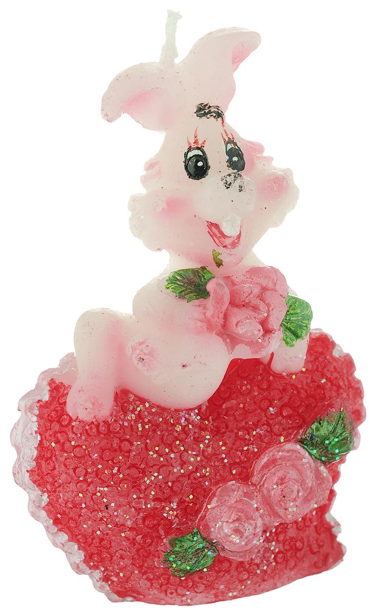 Свеча декоративная Lunten Ranta Влюбленный кролик с розами57570_ розаСвеча декоративная Lunten Ranta Влюбленный кролик с розами - отличный подарок, подчеркивающий яркую индивидуальность того, кому он предназначается. Изделие выполнено из парафина в виде кролика, держащего цветы. Такая свеча украсит интерьер вашего дома или офиса. Оригинальный дизайн и красочное исполнение создадут отличное настроение.