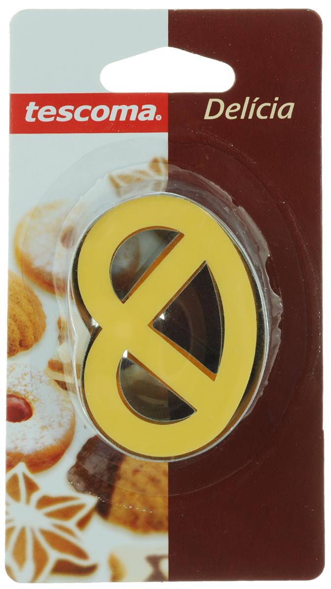 """Пресс-форма для печенья """"Tescoma"""", цвет: желтый, стальной. 631254"""