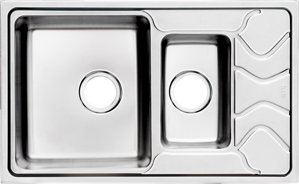 Мойка Iddis Reeva, 1 1/2, чаша слева, 78 х 48 см. REE78SXi77REE78SXi77Корпус мойки выполнен из специальной нержавеющей стали марки 304 с содержанием хрома 18%, никеля 10% , это гарантирует устойчивость к воздействию химических веществ, появлению пятен и коррозии. Толщина стали в мойкам варьируется от 0,8 до 0,9 мм в зависимости от коллекций. Специальное дополнительное антишумовое покрытие Silenon, нанесенное на обратную сторону чаш, разработано для снижения шума воды в мойке. Конструкция краев мойки, крепления и специальная уплотнительная прокладка обеспечивает максимально плотное прилегание к столешнице и защищает от протекания. Каждая мойка из нержавеющей стали IDDIS имеет изготовленное на заводе отверстие под смеситель, что делает ее полностью готовой к установке. Наличие шаблона для выреза отверстия в столешнице для каждой модели облегчает процесс установки моек IDDIS. Специальная обработка углов моек из нержавеющей стали IDDIS гарантирует абсолютное прилегание к столешнице. Гарантия на мойки из нержавеющей стали...