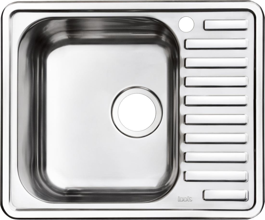 Мойка Iddis Strit, полированная, чаша справа, 58,5 х 48,5 см. STR58PRi77STR58PRi77Корпус мойки выполнен из специальной нержавеющей стали марки 304 с содержанием хрома 18%, никеля 10% , это гарантирует устойчивость к воздействию химических веществ, появлению пятен и коррозии. Толщина стали в мойкам варьируется от 0,8 до 0,9 мм в зависимости от коллекций. Специальное дополнительное антишумовое покрытие Silenon, нанесенное на обратную сторону чаш, разработано для снижения шума воды в мойке. Конструкция краев мойки, крепления и специальная уплотнительная прокладка обеспечивает максимально плотное прилегание к столешнице и защищает от протекания. Каждая мойка из нержавеющей стали IDDIS имеет изготовленное на заводе отверстие под смеситель, что делает ее полностью готовой к установке. Наличие шаблона для выреза отверстия в столешнице для каждой модели облегчает процесс установки моек IDDIS. Специальная обработка углов моек из нержавеющей стали IDDIS гарантирует абсолютное прилегание к столешнице. Гарантия на мойки из нержавеющей стали...