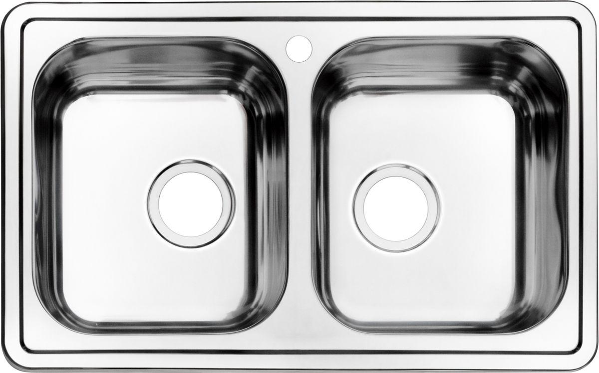 Мойка Iddis Strit, полированная, 2 чаши, 78 х 48 см. STR78P2i77STR78P2i77Корпус мойки выполнен из специальной нержавеющей стали марки 304 с содержанием хрома 18%, никеля 10% , это гарантирует устойчивость к воздействию химических веществ, появлению пятен и коррозии. Толщина стали в мойкам варьируется от 0,8 до 0,9 мм в зависимости от коллекций. Специальное дополнительное антишумовое покрытие Silenon, нанесенное на обратную сторону чаш, разработано для снижения шума воды в мойке. Конструкция краев мойки, крепления и специальная уплотнительная прокладка обеспечивает максимально плотное прилегание к столешнице и защищает от протекания. Каждая мойка из нержавеющей стали IDDIS имеет изготовленное на заводе отверстие под смеситель, что делает ее полностью готовой к установке. Наличие шаблона для выреза отверстия в столешнице для каждой модели облегчает процесс установки моек IDDIS. Специальная обработка углов моек из нержавеющей стали IDDIS гарантирует абсолютное прилегание к столешнице. Гарантия на мойки из нержавеющей стали...