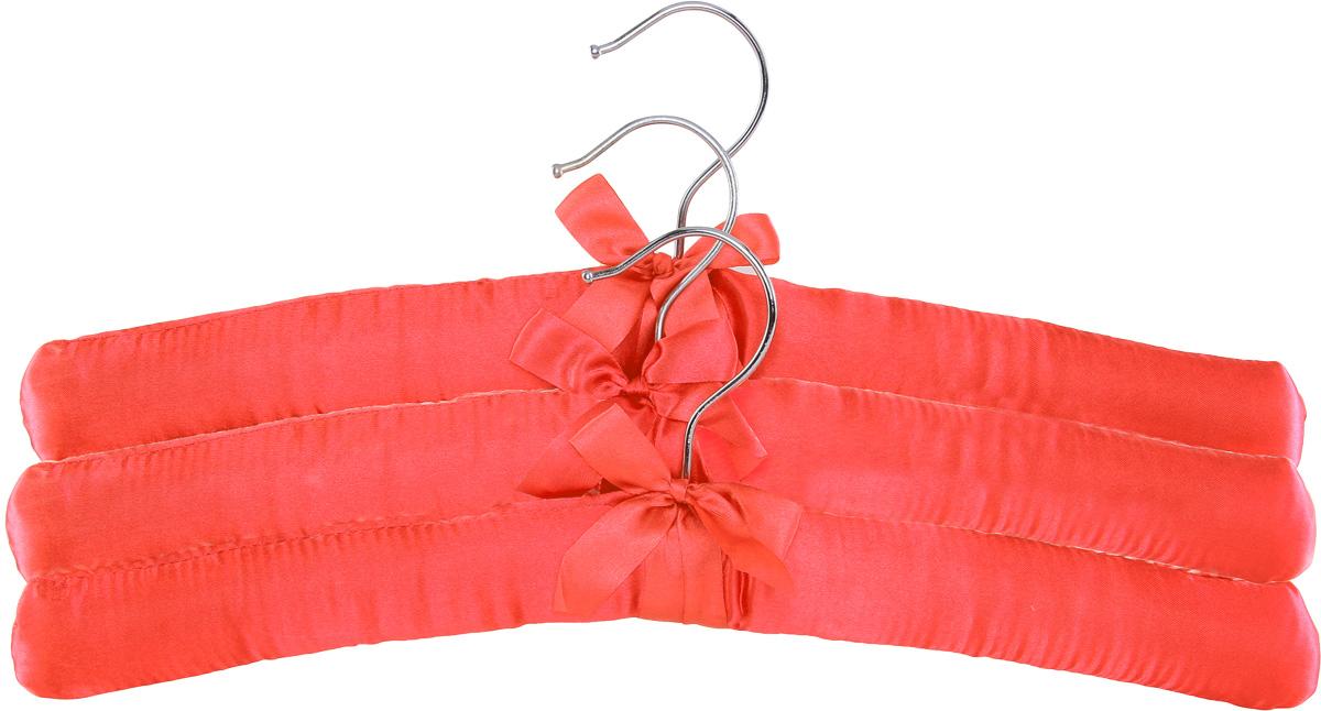 Набор вешалок для одежды Home Queen, цвет: красный, 3 шт57026_ красныйНабор Home Queen состоит из трех вешалок, изготовленных из дерева и текстиля. Вешалки идеально подойдут для деликатной одежды из шерсти и нежных тканей. Набор Home Queen станет практичным и полезным в вашем гардеробе. С ним ваша одежда избежит ненужных растяжек и провисаний. Комплектация: 3 шт. Размер вешалки: 38 х 3,5 х 11,5 см.