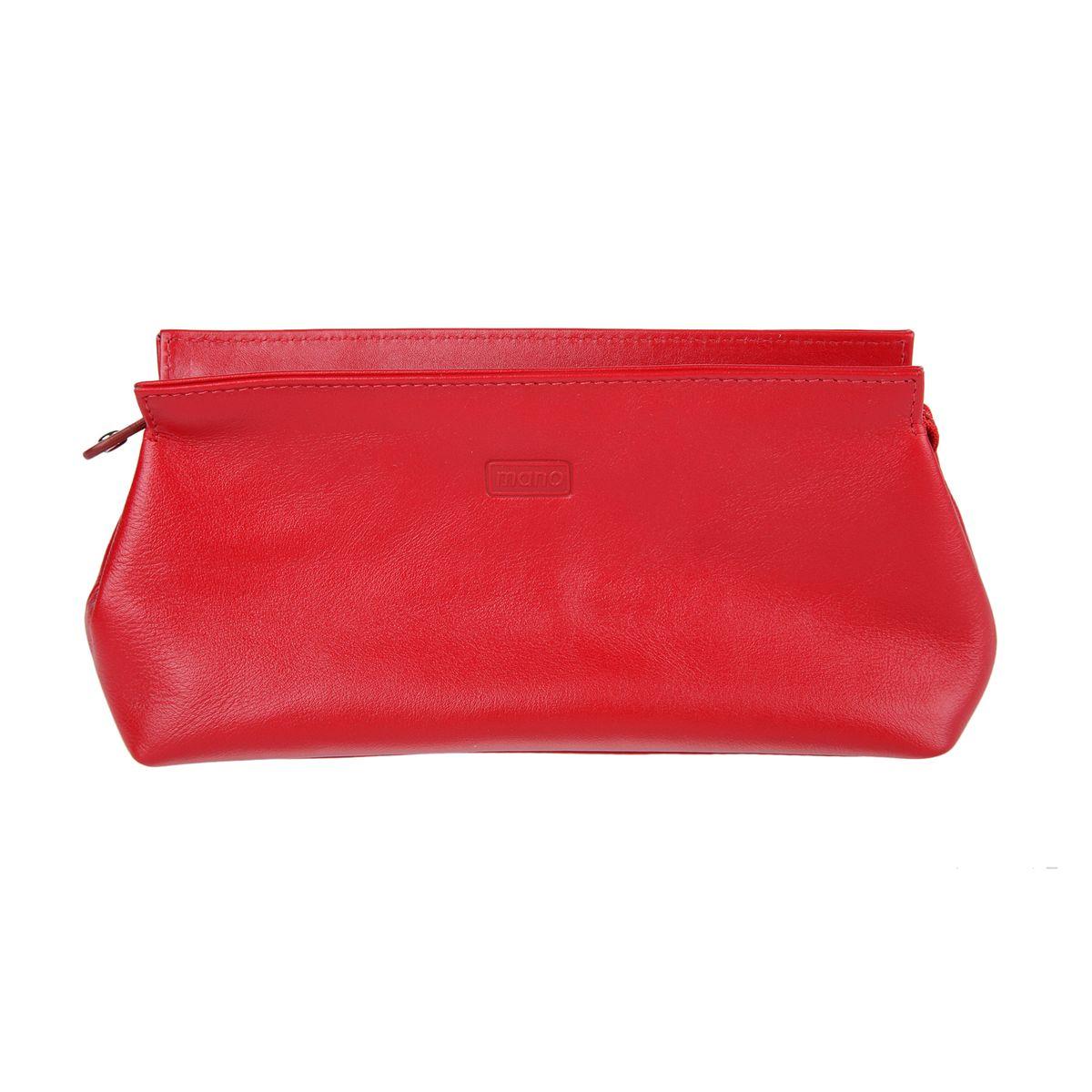 Косметичка женский Mano, цвет: красный. 13422 red