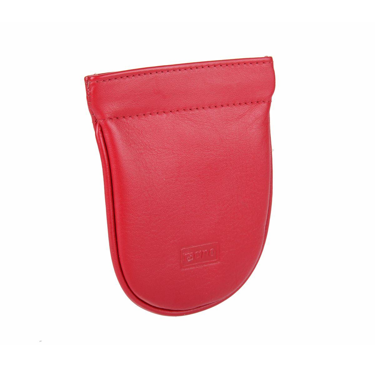 Ключница Mano, цвет: красный. 1341713417 redОригинальная ключница Mano изготовлена из натуральной кожи, оформлена тиснением в виде логотипа бренда. Ключница содержит одно кольцо для ключей. Компактная ключница станет отличным подарком для человека, ценящего качественные и необычные вещи.