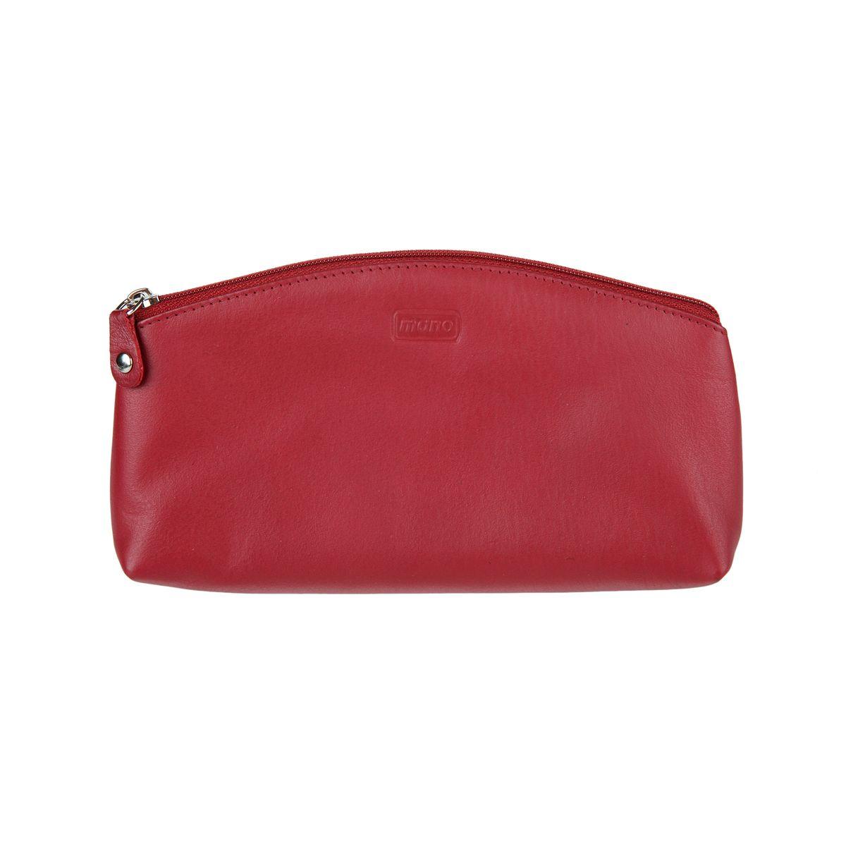 Косметичка женский Mano, цвет: красный. 13412 red