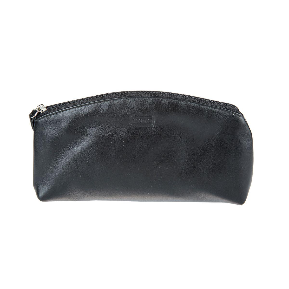 Косметичка женский Mano, цвет: черный. 13412 black13412 blackзакрывается на молнию внутри один большой отдел для косметики
