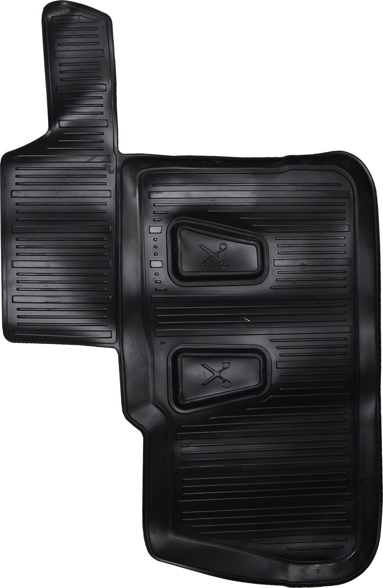 Коврики в салон автомобиля L.Locker, для Сhevrolet Captiva (06), третий ряд сидений0207070401Коврики L.Locker производятся индивидуально для каждой модели автомобиля из современного и экологически чистого материала. Изделия точно повторяют геометрию пола автомобиля, имеют высокий борт, обладают повышенной износоустойчивостью, антискользящими свойствами, лишены резкого запаха и сохраняют свои потребительские свойства в широком диапазоне температур (от -50°С до +80°С). Рисунок ковриков специально спроектирован для уменьшения скольжения ног водителя и имеет достаточную глубину, препятствующую свободному перемещению жидкости и грязи на поверхности. Одновременно с этим рисунок не создает дискомфорта при вождении автомобиля. Водительский ковер с предустановленными креплениями фиксируется на штатные места в полу салона автомобиля. Новая технология системы креплений герметична, не дает влаге и грязи проникать внутрь через крепеж на обшивку пола.