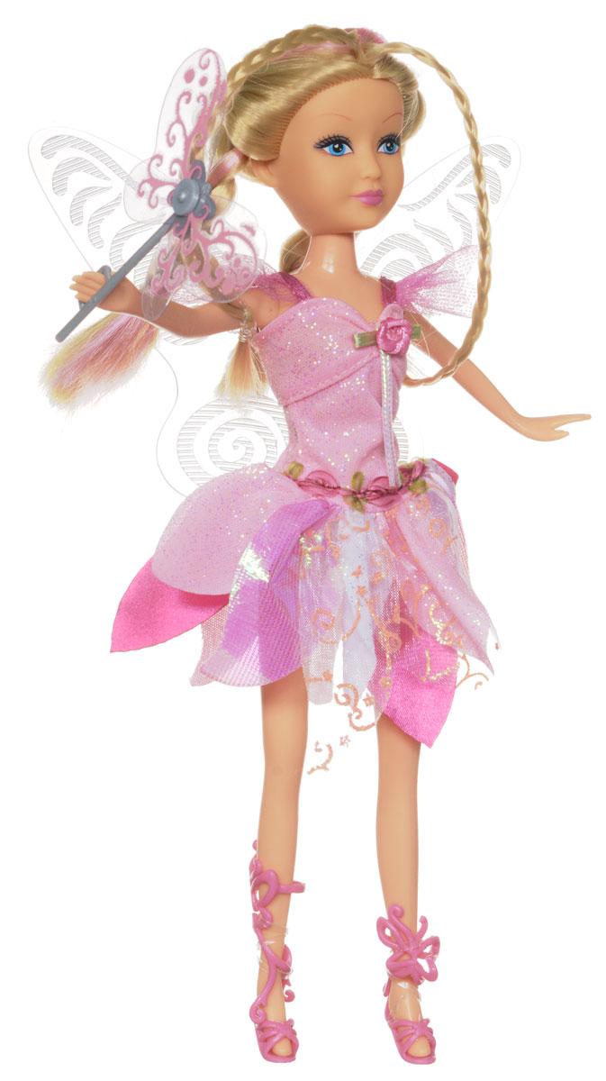 ABtoys Кукла Сумеречная фея цвет платья светло-розовый