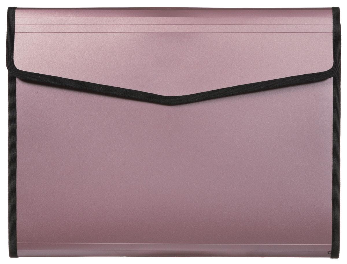 Hatber Папка-конверт Berlingo на липучке цвет пепельно-розовыйADb_04099_пепельно-розовыйПапка-конверт Berlingo - это удобный и многофункциональный инструмент, который идеально подойдет для хранения и транспортировки различных бумаг и документов формата А4. Папка изготовлена из прочного пластика, закрывается клапаном на липучке. Внутри на задней стенке расположен бумажный блок формата А4 в линейку. На передней внутренней стенке - вместительное отделение с 6 пластиковыми разделителями, закрывающееся клапаном на липучке, карман на застежке-молнии с сетчатым окошком, образующий еще одно небольшое отделение, 3 маленьких кармашка для мелких бумаг и канцелярских принадлежностей, два кармашка для письменных принадлежностей и один вместительный скрытый карман. Папка практична в использовании и надежно сохранит ваши документы и сбережет их от повреждений, пыли и влаги.