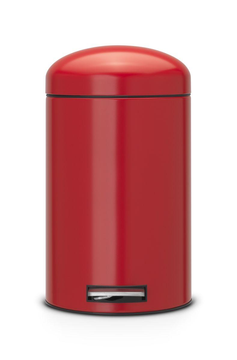 Ведро для мусора Brabantia Retro, 12 л483783Стильный ретро бак открывается бесшумно легким нажатием на педаль. Незаменимый помощник в вашей ванной комнате. Механизм MotionControl обеспечивает мягкое действие педали и бесшумное закрывание крышки; Мягкое действие педали и бесшумное закрывание крышки; Удобный в использовании - при открывании вручную крышка фиксируется в открытом положении, закрывается нажатием педали; Надежный педальный механизм, высококачественные коррозионно-стойкие материалы; Удобная очистка - съемное внутреннее ведро из пластика; Бак удобно перемещать - прочная ручка для переноски; Отличная устойчивость даже на мокром и скользком полу – противоскользящее основание.; Предохранение пола от повреждений - пластиковый защитный обод; Всегда опрятный вид – идеально подходящие по размеру мешки для мусора с завязками (размер C); 10-летняя гарантия Brabantia.