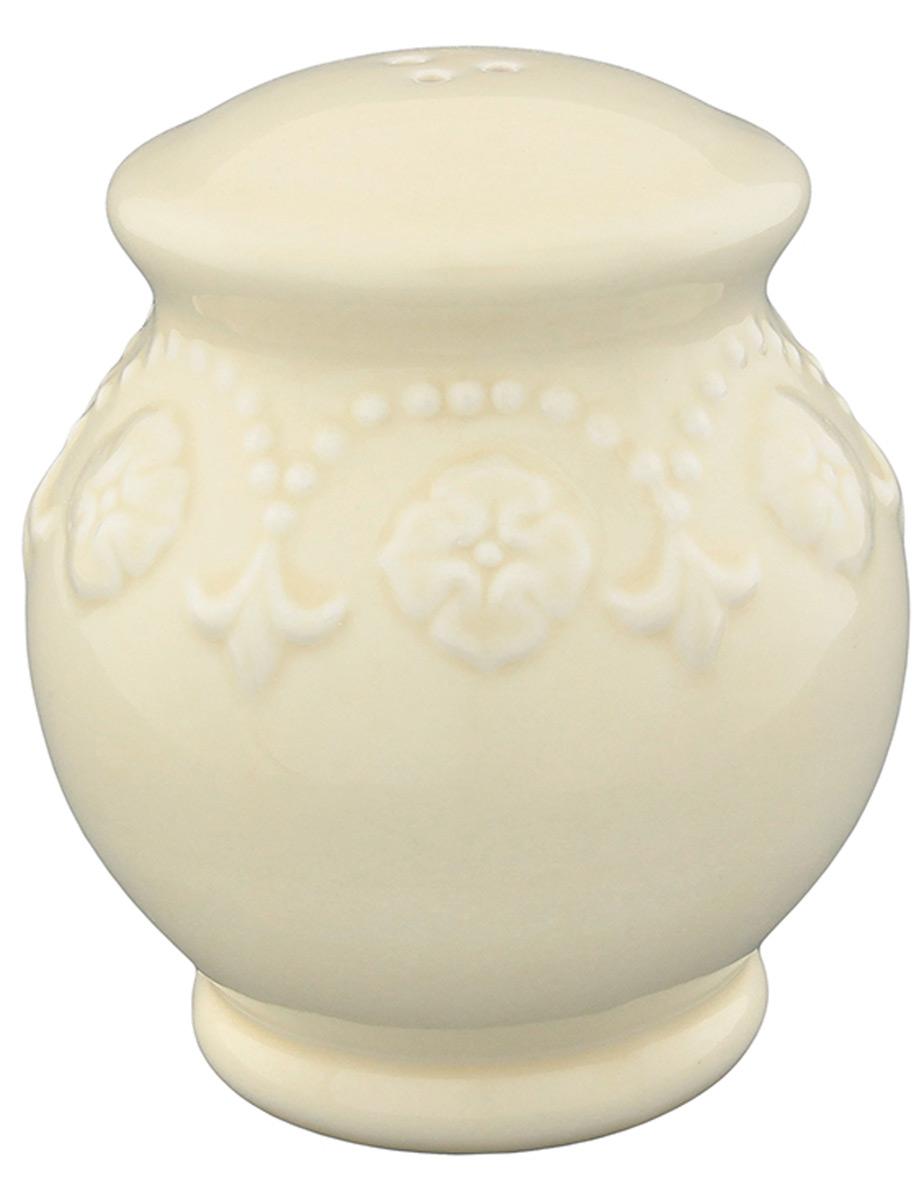 Солонка Elan Gallery Узор, цвет: молочный, 8 х 8 х 9 см830196Оригинальная солонка Elan Gallery Узор изготовлена из высококачественной керамики. Изделие имеет три отверстия для высыпания специй. На дне располагается отверстие, позволяющее наполнить емкость, которое снабжено силиконовой вставкой. Солонка Elan Gallery Узор украсит сервировку любого стола и подчеркнет прекрасный вкус хозяина. Не использовать в микроволновой печи.