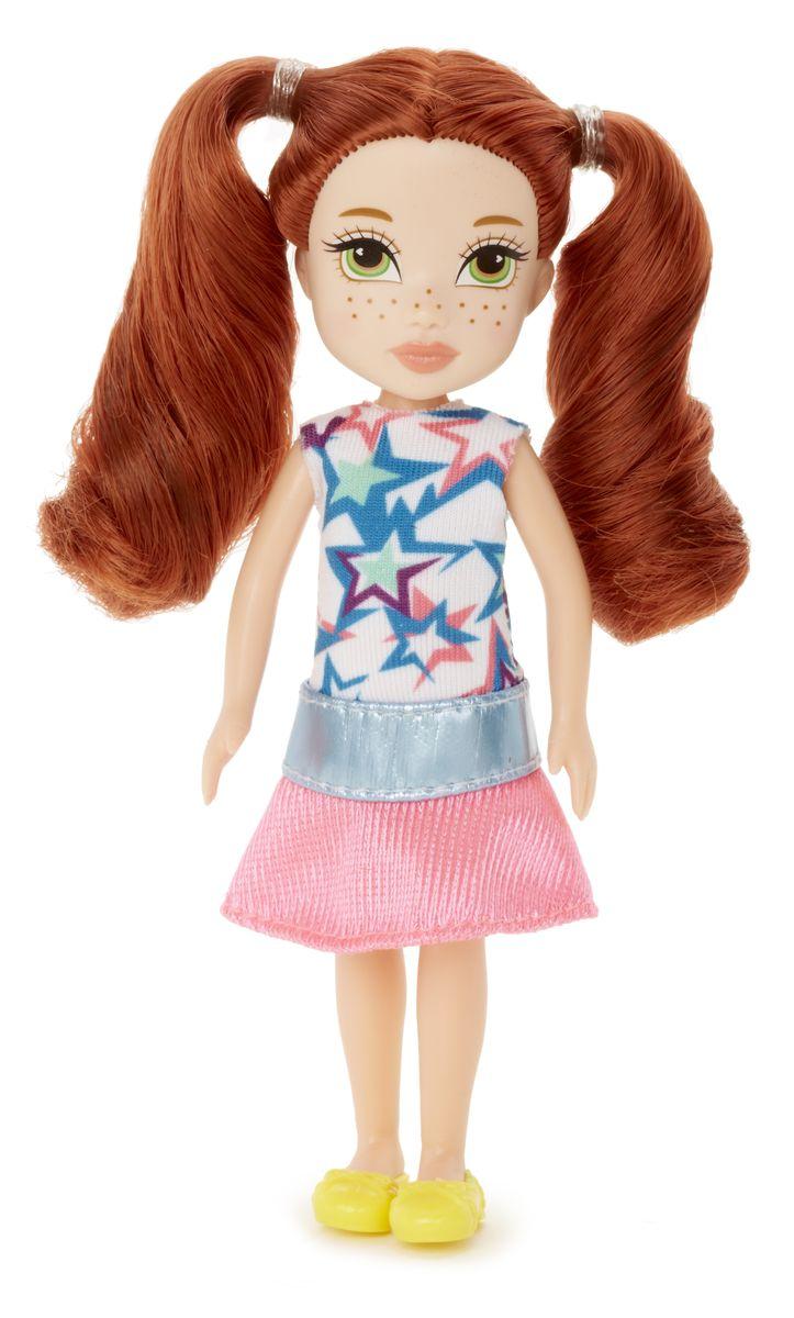 Moxie Мини-кукла Талли цвет одежды розовый бирюзовый538783Moxie - веселые подружки-подростки. Они яркие, модные, любознательные и дружные. Подружки не всегда следуют моде, они ее творят! У каждой из кукол свой собственный, неповторимый стиль, все они очень современны. Они не боятся пробовать что-то новое или творить яркие образы. В мире моды подружки ценят естественность и непосредственность, индивидуальность и самовыражение, отважность и любопытство, дружбу и взаимопомощь. Игры с куклами Moxie способствуют развитию наблюдательности, мелкой моторики, логики и художественного вкуса! Для изготовления кукол Moxie используется качественный материал. Кукла Moxie Талли приведет в восторг вашего ребенка. Она выполнена в виде милой девочки-подростка. Куколка с длинными рыжими волосами одета в яркое летнее платье, на ножках - желтые туфельки. Ручки, ножки и голова Талли подвижны, благодаря чему ей можно придавать различные позы. Ваша малышка с удовольствием будет играть с куклой, делать ей разнообразные прически, придумывать...