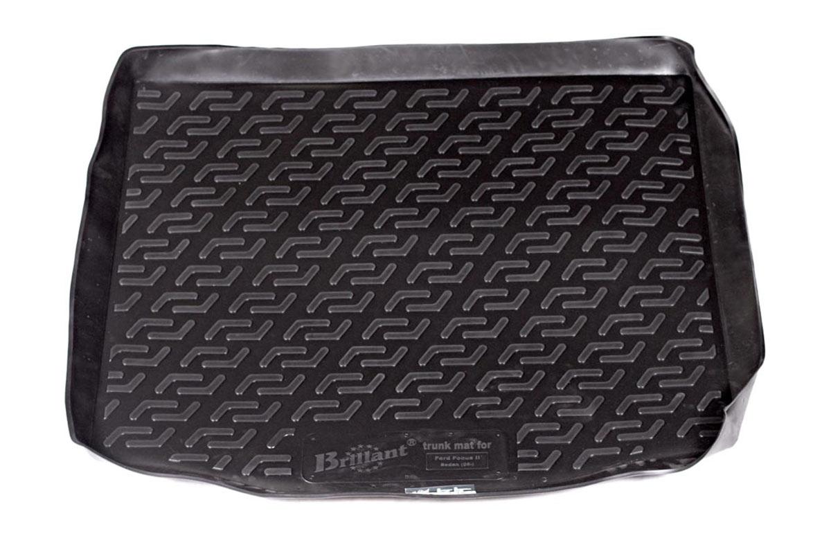 Коврик в багажник Ford Focus II sd (05-) полиуретан0102020401Коврики производятся индивидуально для каждой модели автомобиля из современного и экологически чистого материала, точно повторяют геометрию пола автомобиля, имеют высокий борт от 4 см до 6 см., обладают повышенной износоустойчивостью, антискользящими свойствами, лишены резкого запаха, сохраняют свои потребительские свойства в широком диапазоне температур (-50 +80 С).
