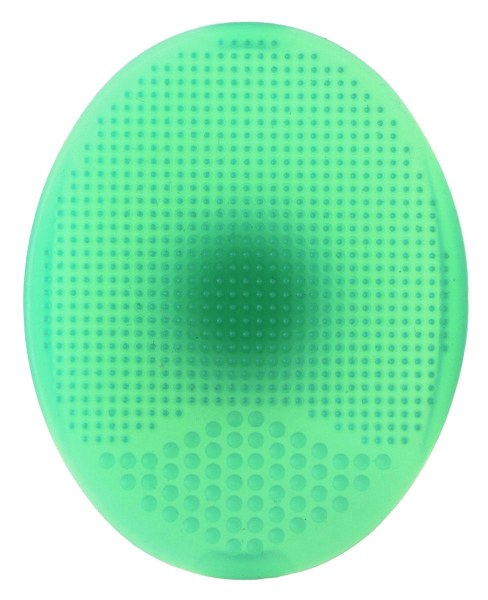 Cleaning Sponge DETOX Спонж-массажер для умывания1053V15643Деликатное очищение, идеальный результат! Мягкие и гибкие волокна силиконового спонжа эффективно и бережно удаляют косметику, ороговевшие клетки, не травмируя кожу, создавая эффект мягкого пилинга. Глубоко очищаются поры и уменьшаются чёрные точки. Спонж эффективен в использовании со средствами для ухода за кожей лица - пенкой, очищающим маслом, масками, кремами, гелями от черных точек на лице. Легкий массаж во время умывания улучшает кровообращение, стимулирует обменные процессы, улучшает цвет лица, делая кожу более гладкой и шелковистой. Срок хранения: не ограничен