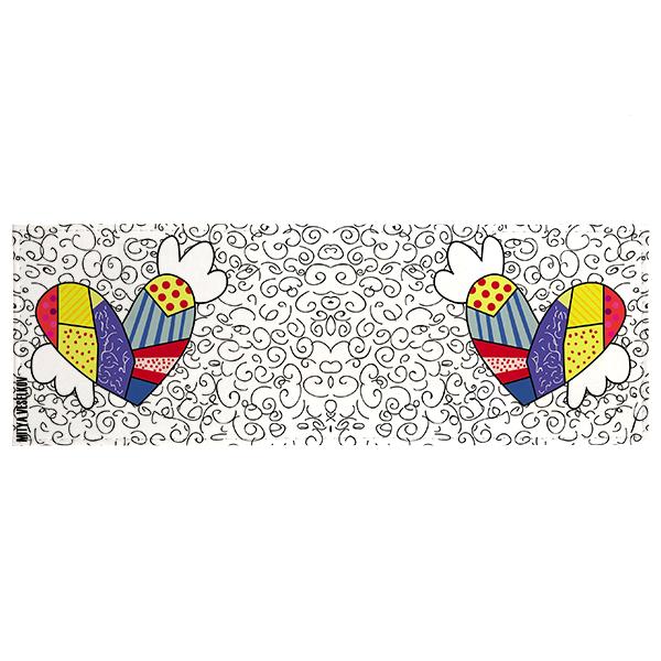 Обложка для студенческого билета Mitya Veselkov Крылатое сердце, цвет: белый, мультицвет. STUDAK71STUDAK71Оригинальная обложка для студенческого билета Крылатое сердце выполнена из натуральной кожи и оформлена оригинальным принтом. Внутри размещены два кармашка из ПВХ. Стильная обложка для студенческого билета поможет сохранить внешний вид ваших документов, а также станет стильным аксессуаром, идеально подходящим к вашему образу.