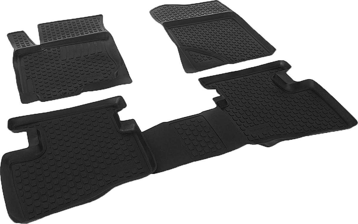 Коврики в салон автомобиля L.Locker, для Hyundai i30 (07-), 4 коврика0204080101Коврики L.Locker производятся индивидуально для каждой модели автомобиля из современного и экологически чистого материала. Изделия точно повторяют геометрию пола автомобиля, имеют высокий борт, обладают повышенной износоустойчивостью, антискользящими свойствами, лишены резкого запаха и сохраняют свои потребительские свойства в широком диапазоне температур (от -50°С до +80°С). Рисунок ковриков специально спроектирован для уменьшения скольжения ног водителя и имеет достаточную глубину, препятствующую свободному перемещению жидкости и грязи на поверхности. Одновременно с этим рисунок не создает дискомфорта при вождении автомобиля. Водительский ковер с предустановленными креплениями фиксируется на штатные места в полу салона автомобиля. Новая технология системы креплений герметична, не дает влаге и грязи проникать внутрь через крепеж на обшивку пола.