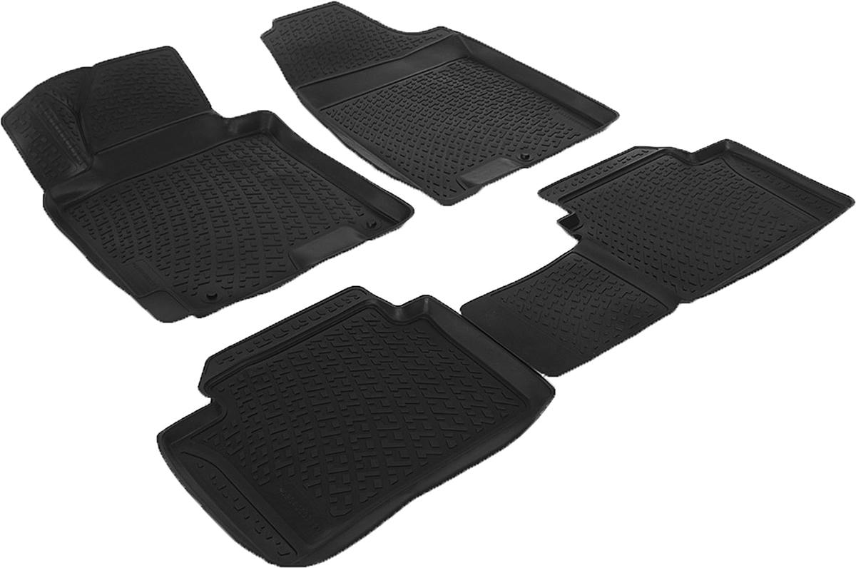 Коврики в салон автомобиля L.Locker, для Hyundai i30 (12-)0204080301Коврики L.Locker производятся индивидуально для каждой модели автомобиля из современного и экологически чистого материала. Изделия точно повторяют геометрию пола автомобиля, имеют высокий борт, обладают повышенной износоустойчивостью, антискользящими свойствами, лишены резкого запаха и сохраняют свои потребительские свойства в широком диапазоне температур (от -50°С до +80°С). Рисунок ковриков специально спроектирован для уменьшения скольжения ног водителя и имеет достаточную глубину, препятствующую свободному перемещению жидкости и грязи на поверхности. Одновременно с этим рисунок не создает дискомфорта при вождении автомобиля. Водительский ковер с предустановленными креплениями фиксируется на штатные места в полу салона автомобиля. Новая технология системы креплений герметична, не дает влаге и грязи проникать внутрь через крепеж на обшивку пола.
