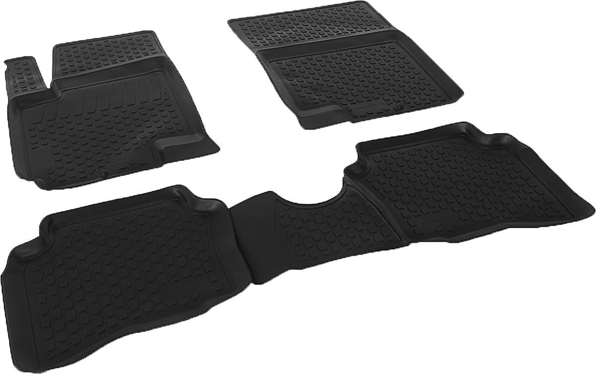 Коврики в салон автомобиля L.Locker, для Hyundai i20 (09-), 4 шт0204090101Коврики L.Locker производятся индивидуально для каждой модели автомобиля из современного и экологически чистого материала. Изделия точно повторяют геометрию пола автомобиля, имеют высокий борт, обладают повышенной износоустойчивостью, антискользящими свойствами, лишены резкого запаха и сохраняют свои потребительские свойства в широком диапазоне температур (от -50°С до +80°С). Рисунок ковриков специально спроектирован для уменьшения скольжения ног водителя и имеет достаточную глубину, препятствующую свободному перемещению жидкости и грязи на поверхности. Одновременно с этим рисунок не создает дискомфорта при вождении автомобиля. Водительский ковер с предустановленными креплениями фиксируется на штатные места в полу салона автомобиля. Новая технология системы креплений герметична, не дает влаге и грязи проникать внутрь через крепеж на обшивку пола.