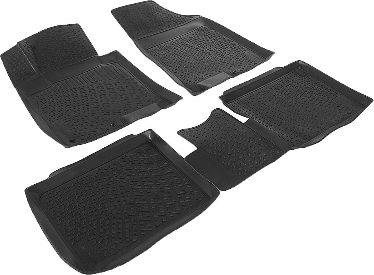 Коврики в салон автомобиля L.Locker, для Hyundai i40 (11-), 4 шт0204100101Коврики L.Locker производятся индивидуально для каждой модели автомобиля из современного и экологически чистого материала. Изделия точно повторяют геометрию пола автомобиля, имеют высокий борт, обладают повышенной износоустойчивостью, антискользящими свойствами, лишены резкого запаха и сохраняют свои потребительские свойства в широком диапазоне температур (от -50°С до +80°С). Рисунок ковриков специально спроектирован для уменьшения скольжения ног водителя и имеет достаточную глубину, препятствующую свободному перемещению жидкости и грязи на поверхности. Одновременно с этим рисунок не создает дискомфорта при вождении автомобиля. Водительский ковер с предустановленными креплениями фиксируется на штатные места в полу салона автомобиля. Новая технология системы креплений герметична, не дает влаге и грязи проникать внутрь через крепеж на обшивку пола.